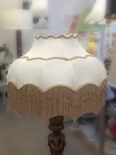 silk scalloped victorian dome