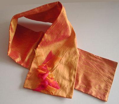 scarf taffeta