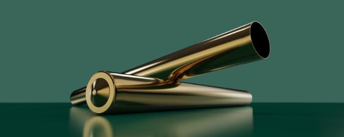 deep drawn bronze sleeve