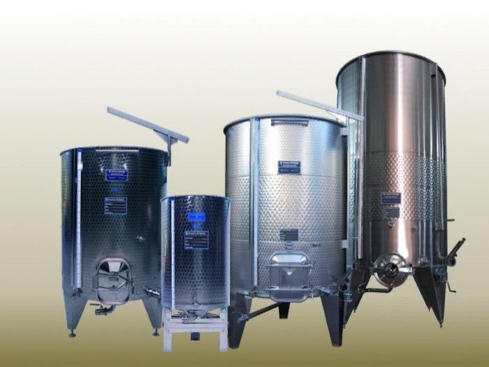 Бродильные емкости для вина из нержавеющей стали