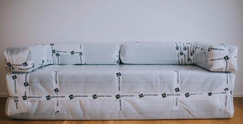Verpackung von Möbel