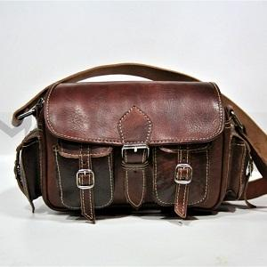 Leather Shoulderbag/ Crossbody bag
