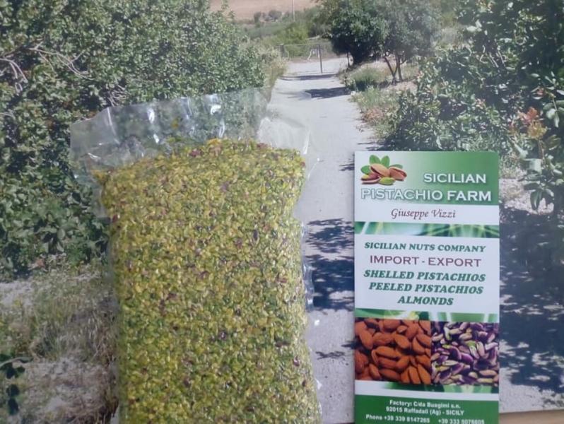 Produzione e Ingrosso di pistacchio mandorle italia sicilia agrigento raffadali
