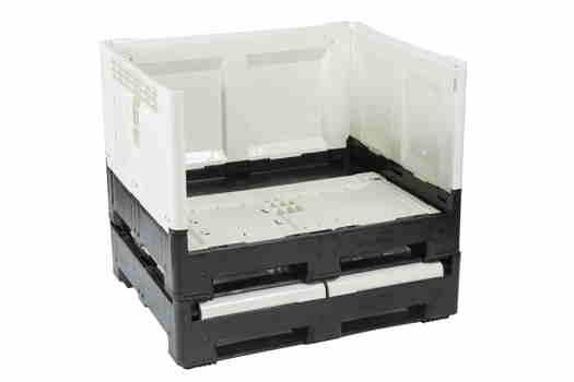 Caisse palette plastique pliable