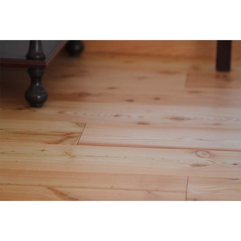 Pavimento 2 strati larice con nodi spazzolato verniciato naturale