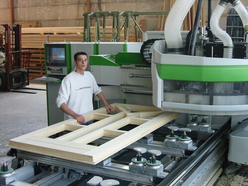 Eigene Produktion mittels CNC-Zentren