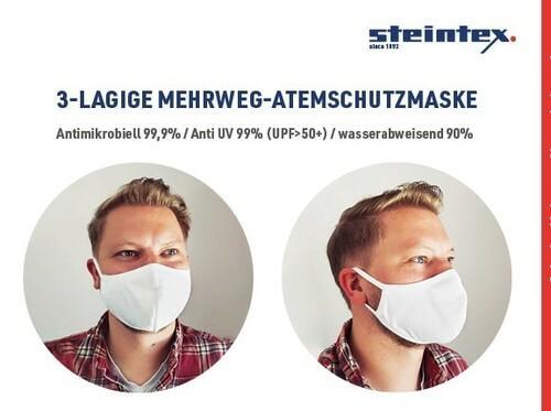 Atemschutzmaske Mehrweg Mundschutz