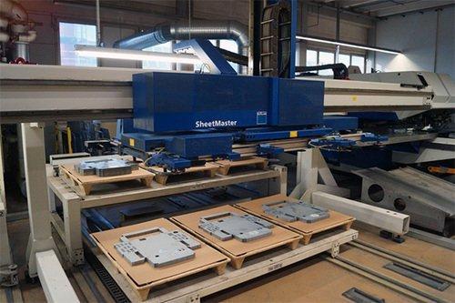 CNC Stanz-Laser-Kombination