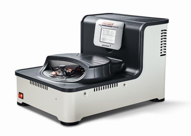 So sicher war das Mahlen noch nie ! Die FRITSCH Planeten-Mikromühle PULVERISETTE 7 premium line ist ideal zur Probenaufbereitung und Nano-Mahlung von kleinen Mengen.