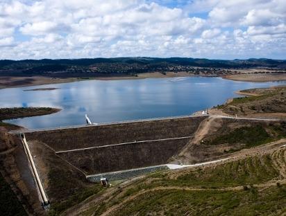 Portugal – Álamos I and II Dams – Alentejo.
