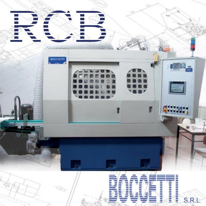 RCB- Rettificatrice zona collarino valvole motore