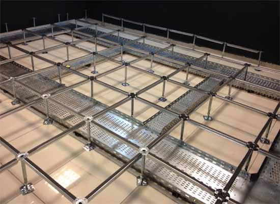 Raised Access Floor Installation