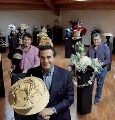 Produzione cappelli, berretti e cappelli in paglia