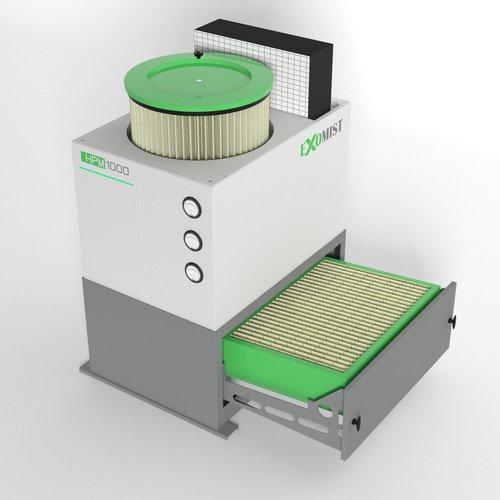 Luftfilter für Werkzeugmaschinen