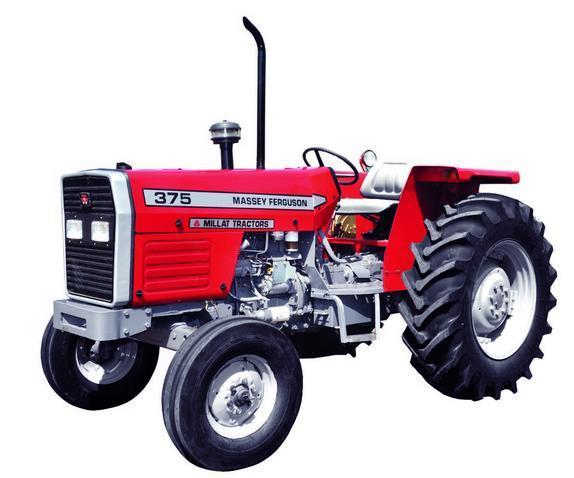 Massey Ferguson Tractor MF 375 (75HP) 2 Wheel Drive