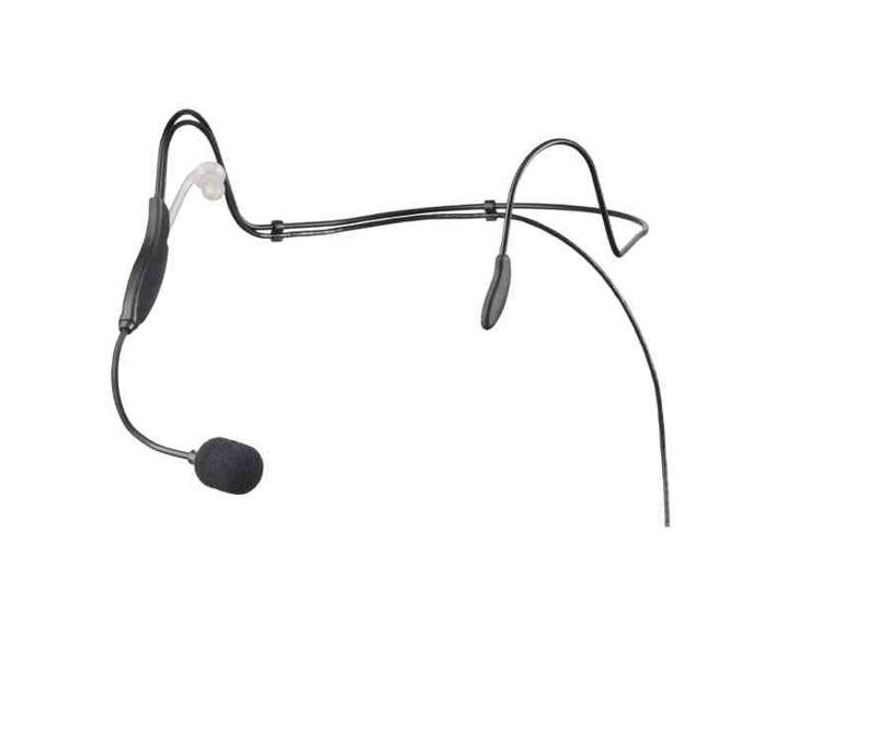 Das Headset zeichnet sich durch ein sehr flaches Design und minimales Gewicht aus. Mit nur 22 Gramm bietet es höchsten Tragekomfort und kann dank formbarem Spezialdraht individuell angepasst werden.