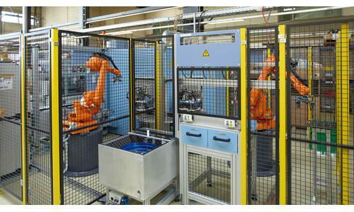 Automatisierte Produktionsanlage