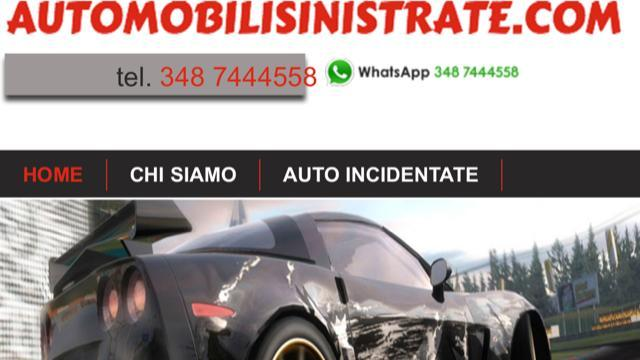 Auto sinistrate,compro auto incidentate