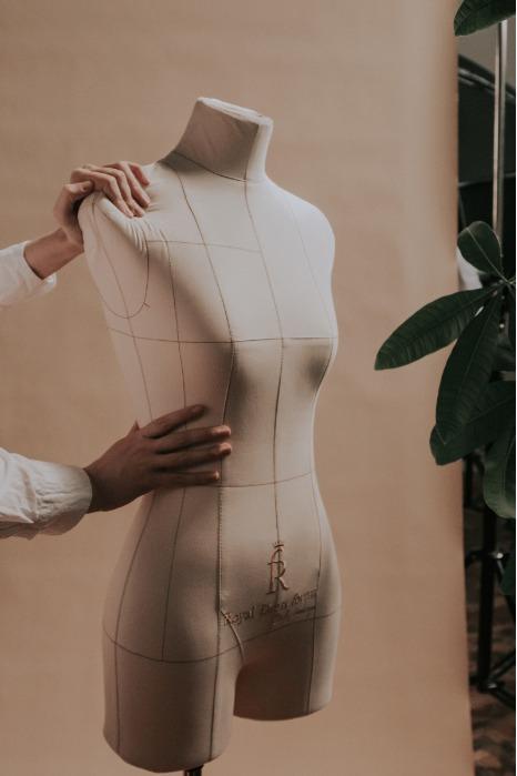 Monica dress form