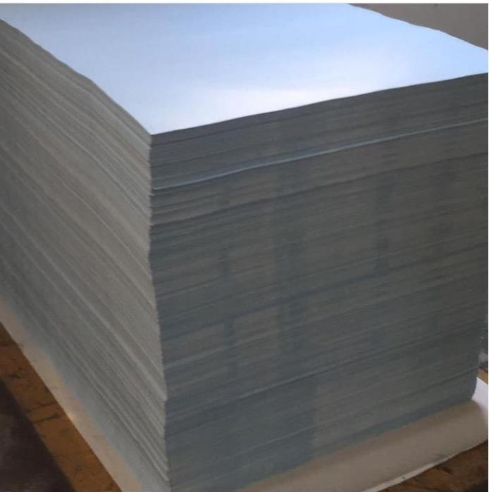 Mavi mat transfer kağıdı