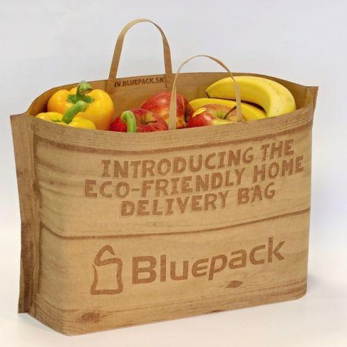 By adjusting the bag to your exact requirements, we help you to minimize transport costs of your home delivery business.