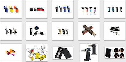 Vinbro.com Lighters and Matches