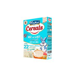 VITAMEAL BABY Cereals are an infant food of high nutritional value adapted to feeding babies from 6 months.Flavors:Rice & Milk, Rice & carrots, 5 vegetables. Gluten Free product. Pack of 200g.