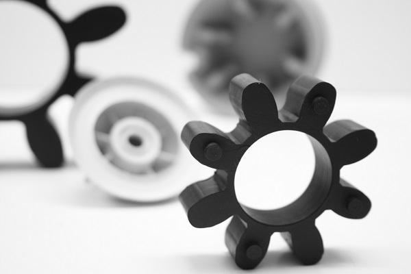 Custom designed items in rubber