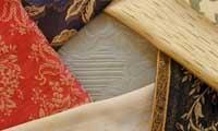 Disegni tessuti per l'arredamento