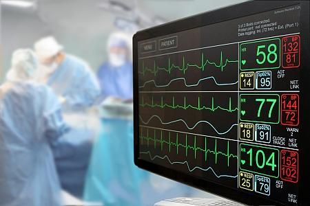 TFT Displays werden in viele verschiedene Medizingeräte verbaut. Ultraschallgeräte, Röntgen, MRT usw.
