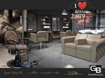 Mobiliario de peluqueria, muebles de peluqueria