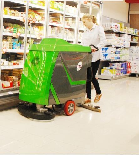 Gansow Floor Scrubbers
