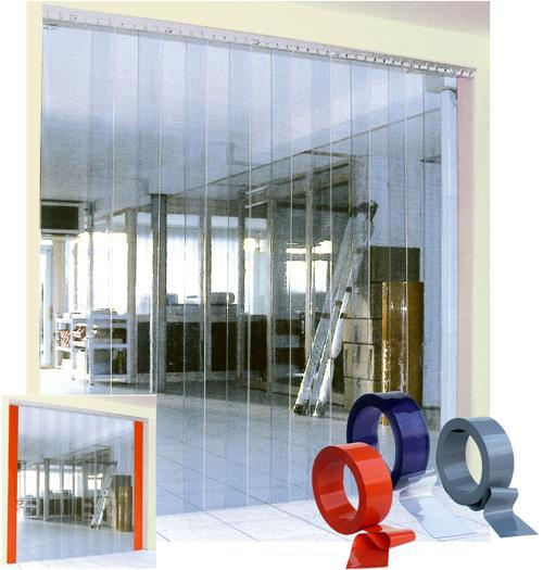 Flexible PVC strip doors - Porte à lanières - PVC Streifen L22 SPENLE