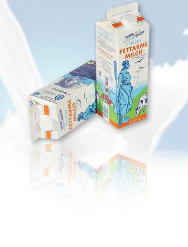 Fettarme Milch 1,5%