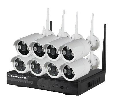 KIT NVR 8 OR 4 CHANNEL CLOUD FROM SMARTPHONE EASY INSTALL PRICE START FROM 249,00 € FOR MOQ 50 PCS
