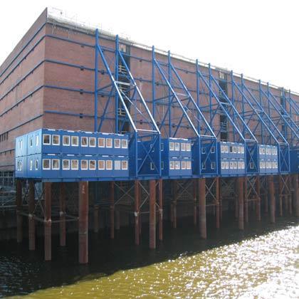 Site office Elbphilharmonie, DE-Hamburg