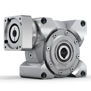 Servo worm gearheads with output and hollow shaft. The gearing of the V-Drive Basic was specifically developed to minimize noise level in S1 operation. It also convinces with optimal value for money.