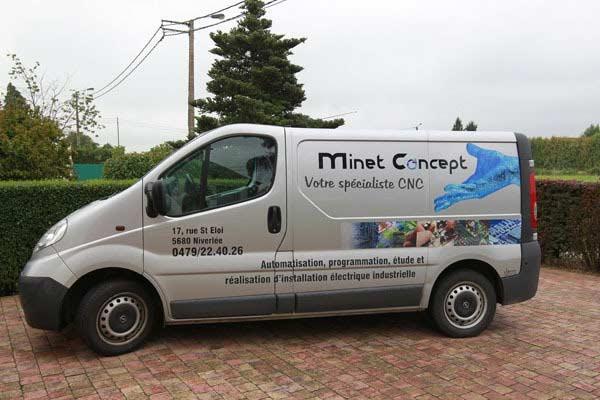 Minet Concept est votre spécialiste CNC sur toute la Wallonie et le nord de la France