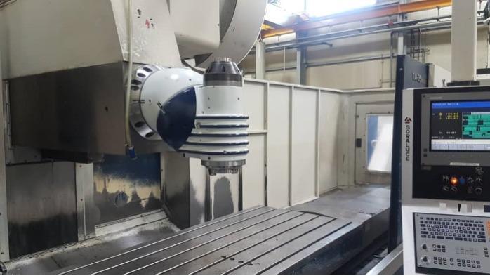 SORALUCE TA-35 bed type milling machine