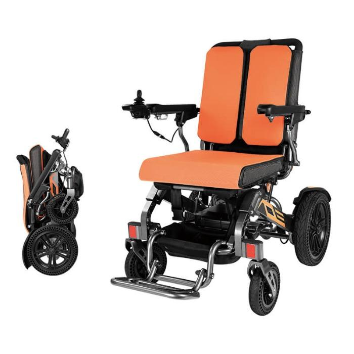 Reinforced Lightweight Folding Electric Wheelchair- YATTLL YE100