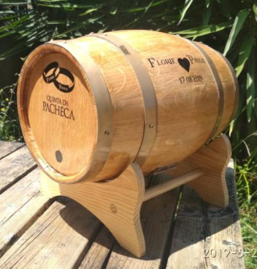 gift wood barrel