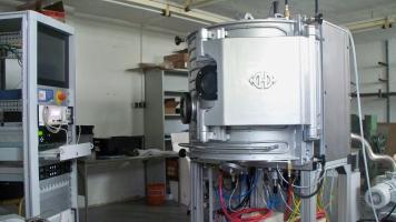 Montagebereich für Vakuumanlagen