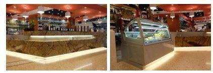 e vetrine gelateria messe in vendita dalla Coletti sono con refrigerazione a doppia ventilazione,
