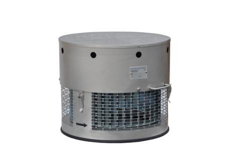 Kamin-Hut-Ventilator Modell HR (rund)
