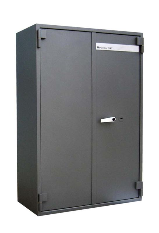 Security cabinets specifically designed to protect documents and valuables.