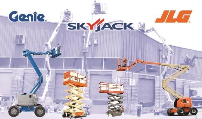 Alquilamos plataformas tipo manlift y tijeras de las mejores marcas GENIE, JLG, SKYJCK por dias, semanas, meses, consulte sin compromiso al 2208874 - 995057948 o escribamos a mansercomsac@yahoo.com