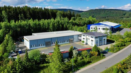 Werk 1:  Verwaltung und Stahlbau