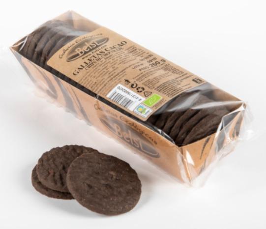 Galletas cacao chips de chocolate