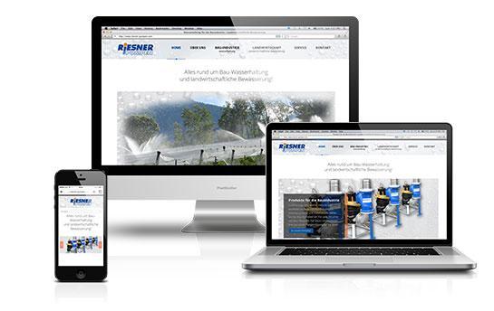 Die Website der Mario Riesner Pumpen GmbH spiegelt die Werte des Unternehmens wider: Kundennutzen klar im Vorderung, Lieferung von hochqualitativem Branchenwissen, ergänzt um viele weitere Features.