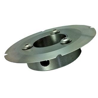 Rotary hub and circular knife